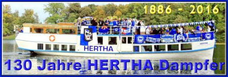 Fahrgastschifffahrt Kyritzer Seenkette | www.hertha-dampfer.de