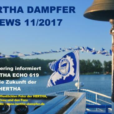 HERTHA DAMPFER News 11/2017