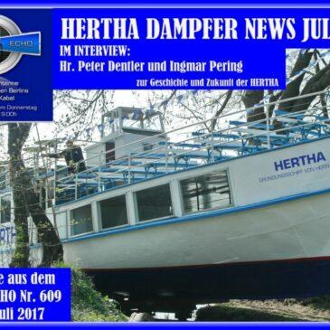 HERTHA Dampfer News 07/2017